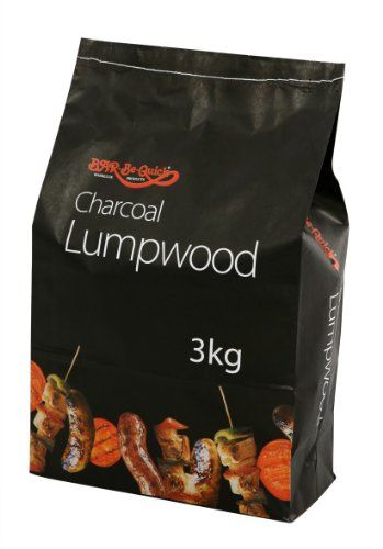 1 X Bar-Be-Quick 3kg Lumpwood charcoal- Great for everyday barbecues!