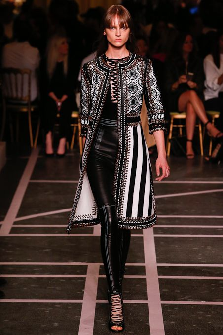 Givenchy Spring 2015 Ready To Wear Collection Gallery Look 1 Make Me Over