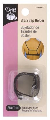 Bra Strap Holder Black-56686-1 | Dritz Quilting, Sewing & Crafting Supplies