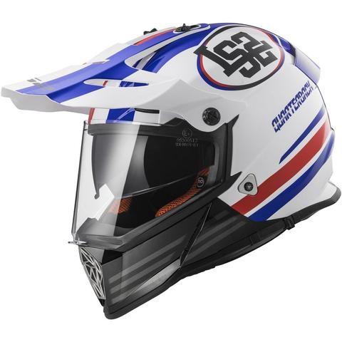 LS2 Pioneer Quarterback Adventure Adult Off-Road Helmets