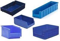Складские лотки для склада ящики пластиковые