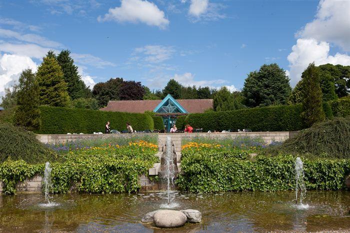 Durham University's Botanic Garden in Durham City.