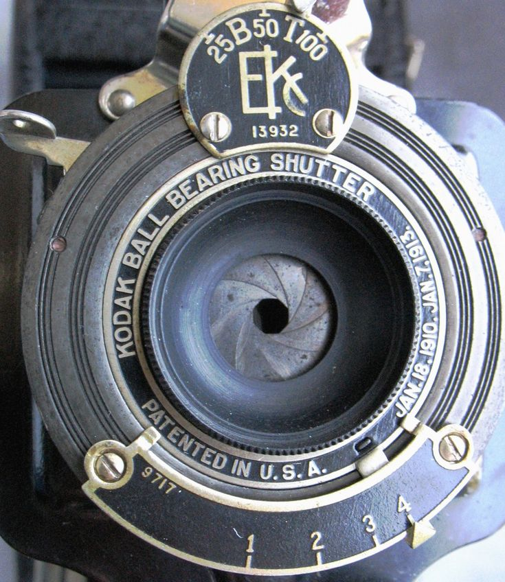 1A Kodak with Meniscus Lens and Numerical Aperture System