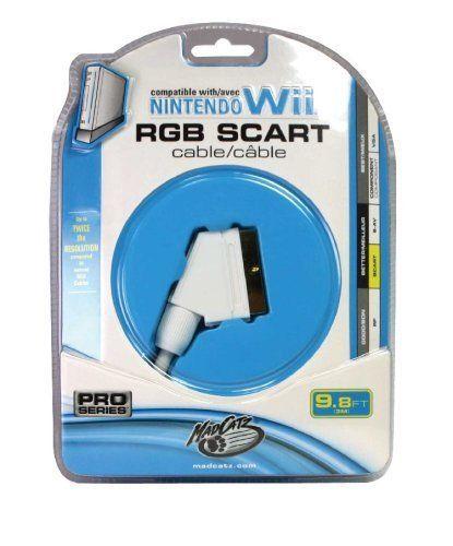 Nintendo Wii RGB Scart-Kabel für Wii 3 Meter