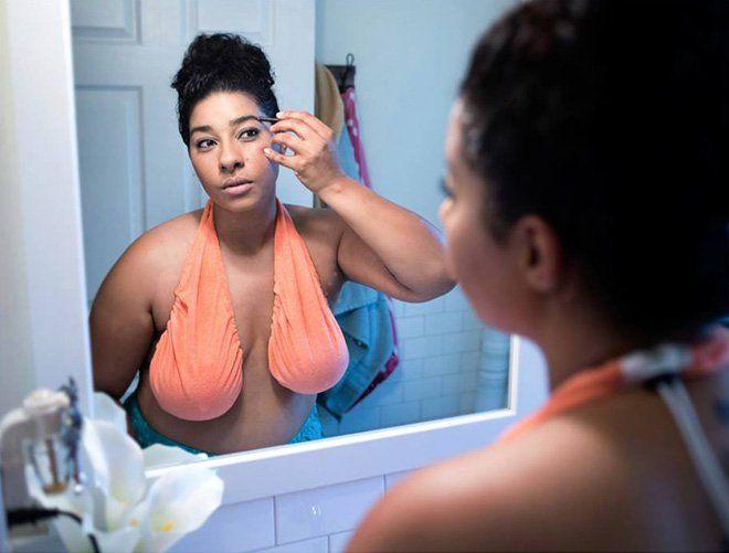 La «Ta-Ta Towels», la serviette qui règle les problèmes de transpiration sous les seins