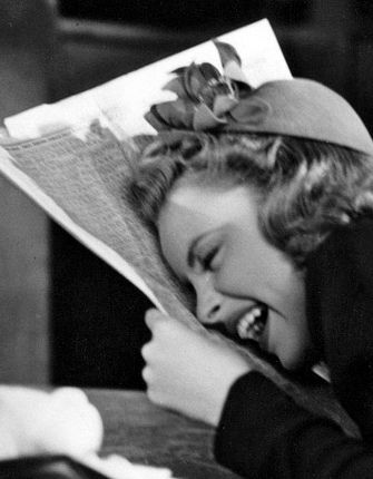 Judy Garland - A spoonful of laughter helps the medicine go down