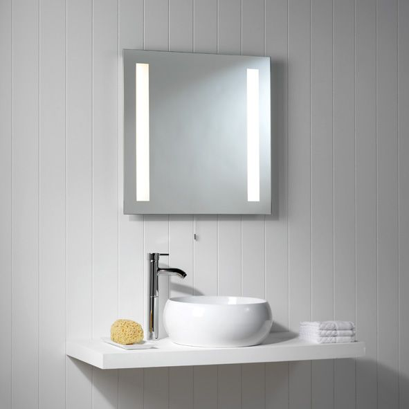 13 best illuminated bathroom mirrors images on pinterest bathroom buy astro galaxy square 2 light mirror finish bathroom mirror online via lighting at home the uks premier online lighting retailer aloadofball Choice Image