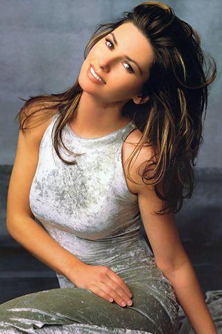 famous Canadian singer, Shania Twain