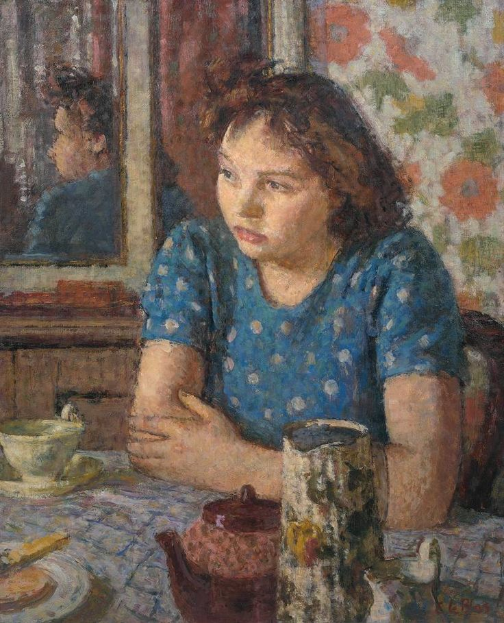 'The Tea Table', 1947–8 Edward Le Bas (1904–1966) © Tate