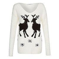 Reindeer Eyelash Jumper | Women | George at ASDA