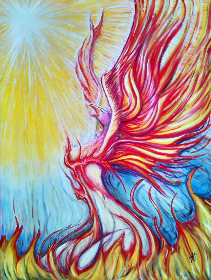 The Phoenix - Oil on canvas - 2014