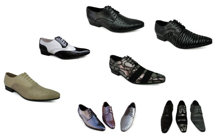 Ventegros vous offre à prix inouï ces chaussures de ville pour hommes, élégantes et confortables à chausser.  Chaussures en simili cuir façonné en reptile avec trois bandes nubuck dessus pour donner cette forme attrayante, bout allongé et fermoir soulier sur la languette. Le tout monté sur une semelle antidérapante. À porter pour les occasions habillées, vous serez hyper chic.  Prix: 151.20 € H.T. (12.60 € / UNITÉ) http://www.ventegros.fr/chaussures-homme-a-deux-tons-7443341.htm