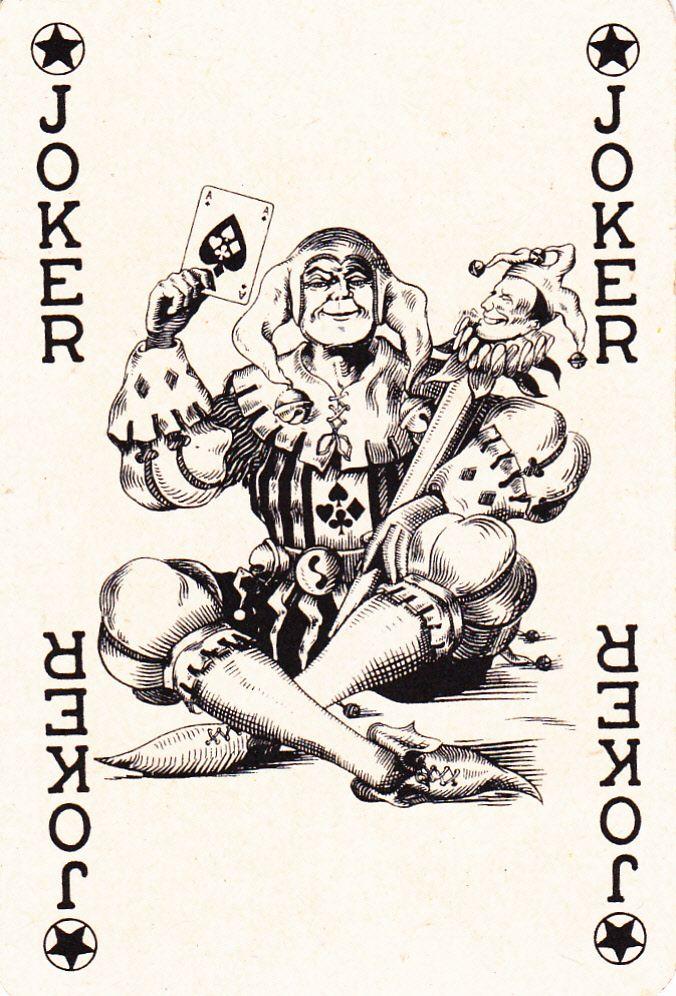vintage german joker