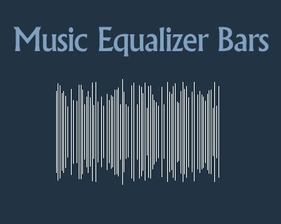 music equalizer bars with jquery effect bar music jquery equalizer