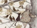 겨울을 견디느라 앙상해진 나뭇가지마다 새들이 모여앉아 노래를 해주었습니다. 옹기종기 앉아있는 새들의 모습은  바람에 흩날리는 나무의 이파리들 같았고... 나는... 지저귀는 노래소리를 타고 온 희미한 봄내음을 맡을 수 있었지요...