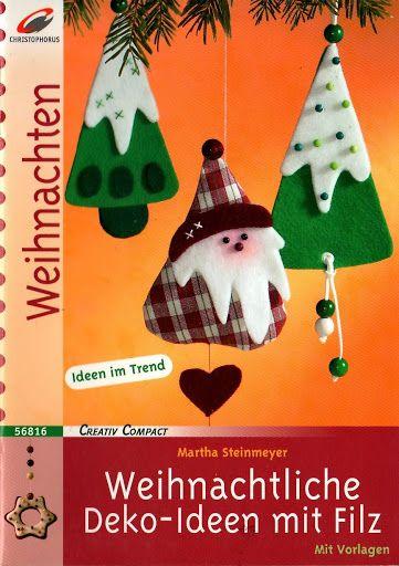 Christophorus-Weihnachtliche Deko-Ideen mit filz - Marta Szabo - Picasa Web Albums