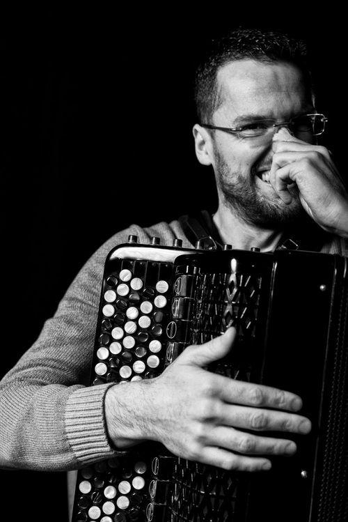 Portrait of Luca Piovesan Accordion Composer