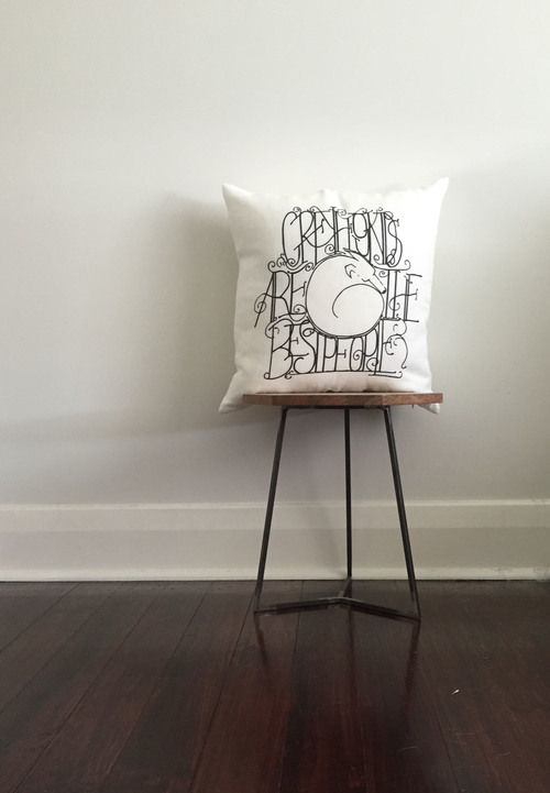 Cosy Morgan Reid Design Linen Greyhound Cushion.jpg