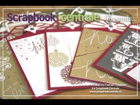 Scrapbook Centrale: Jour 12 * Douze jours de Noël / Day 12 * Twelve Days of Xmas! #elizabethcraftdesigns #teresacollins