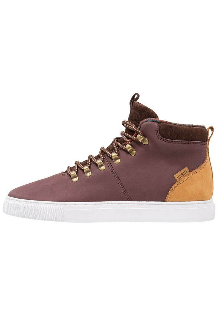 Djinn´s AZTEK Sneaker high brown Schuhe bei Zalando.de | Obermaterial: Leder, Innenmaterial: Textilfutter, Sohle: Kunststoff, Decksohle: Kork | Schuhe jetzt versandkostenfrei bei Zalando.de bestellen!