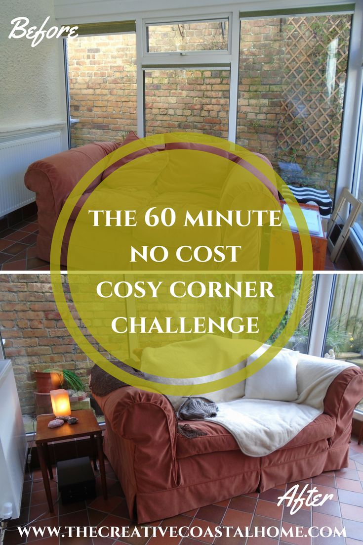 17 best ideas about cosy corner on pinterest corner for 60 minute makeover living room ideas