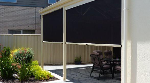 For your home   Ziptrak® Outdoor Blinds
