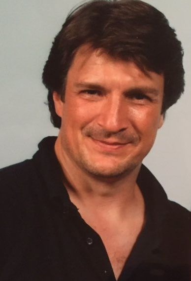 Nathan Fillion - 1st day on FactsConvention in Gent, Belgium - April 1, 2017
