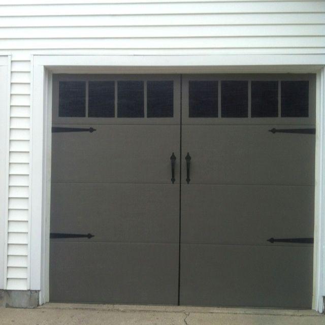 Grey Garage Door Ideas And Pics Of Garage Doors Made Of Wood