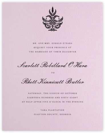 Wedding Invitations   Online And Paper   Paperless Post