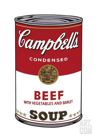 Campbell's Soup I: Beef, c.1968 Giclee Print