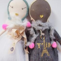 Jess Brown Rag DollsSewing Dolls, Kids Crafts Toys, Jesse Brown Dolls, Brown Rag, Dreams Dolls, Handmade Dolls, Rag Dolls, Brown Design, Dolls Animal