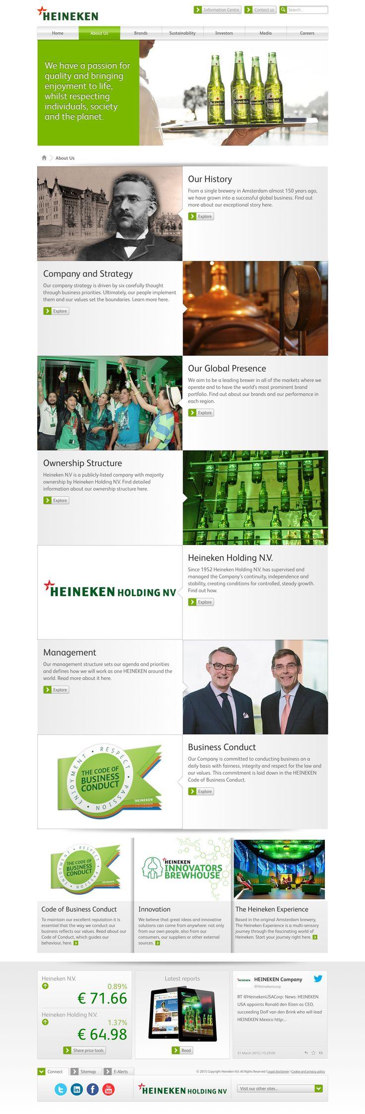 theheinekencompany.com - About us