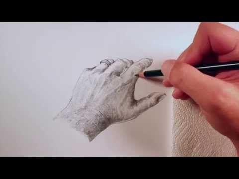 Como dibujar y sombrear una mano. How to Draw a Realistic Hand