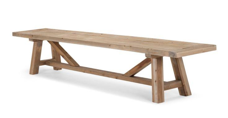 Iona Bench, Solid Pine | made.com