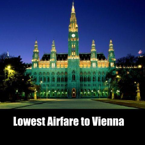 Cheap Flights to Vienna- Buy Online