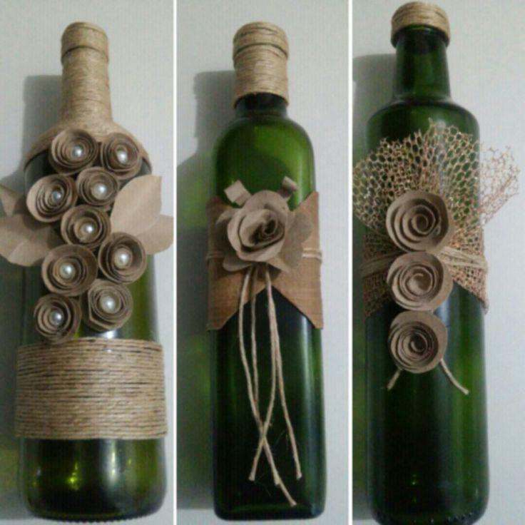 Recicle e Decore com Garrafa