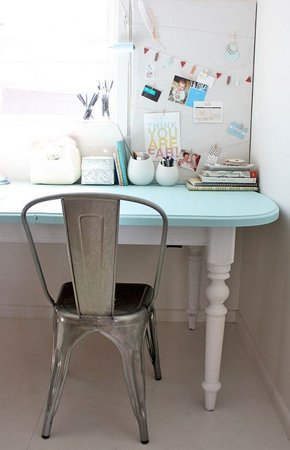 Idea for desk in girl's room