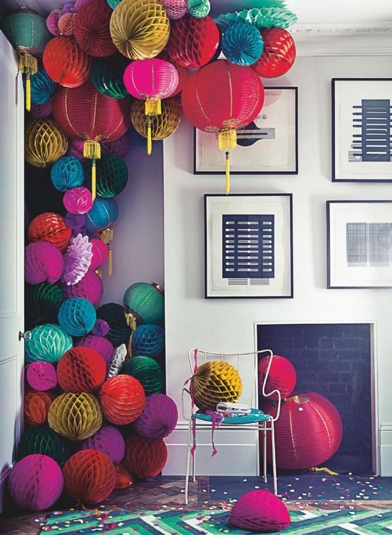 These party decorations are making us want to get party planning.