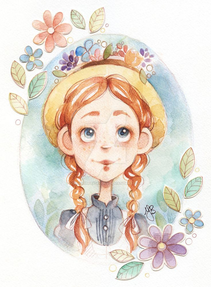 Anne Of Green Gables by Y.B. [©2017]