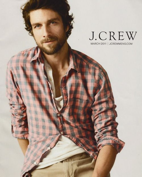 He looks like christian bale in a flannel shirt for j for J crew mens looks