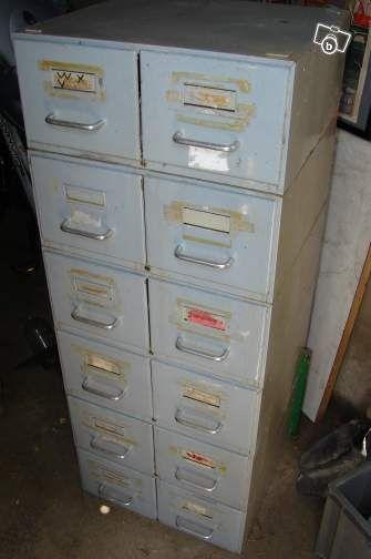 Meuble casier industriel à tiroirs marque Flambo Ameublement Eure - leboncoin.fr