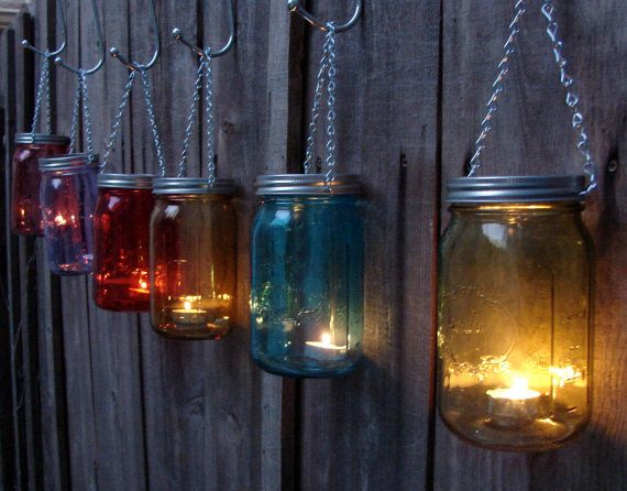 Hey, I found this really awesome Etsy listing at https://www.etsy.com/listing/165425703/hand-made-mason-jar-hanging-votive