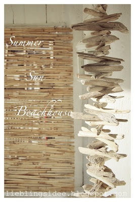 beachhouse decoration - I have the driftwood, just need to assemble