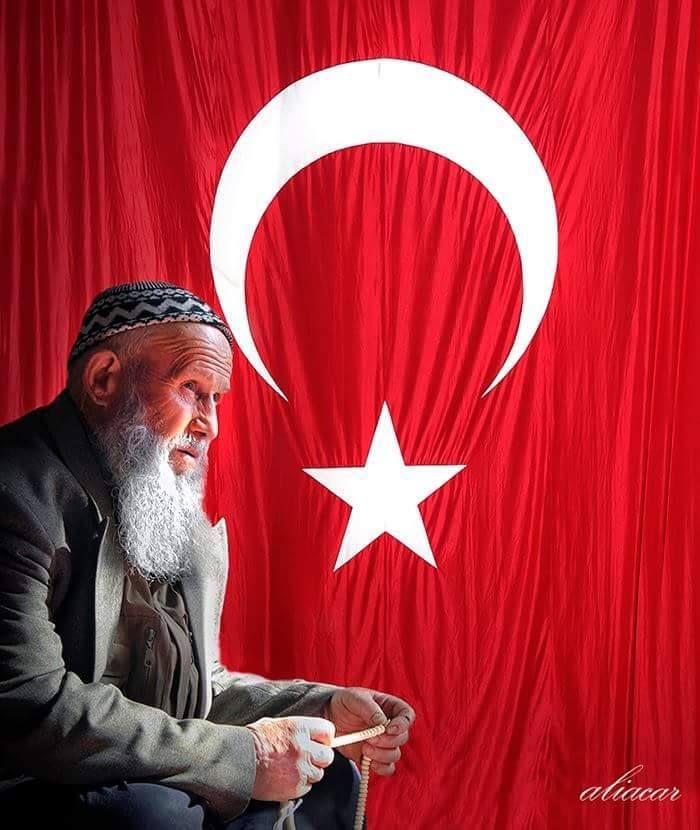 """Allah bir, Vatan bir, Bayrak bir, Kitap bir, Millet bir, """" BÖLDÜRMEYECEĞİZ ! """""""
