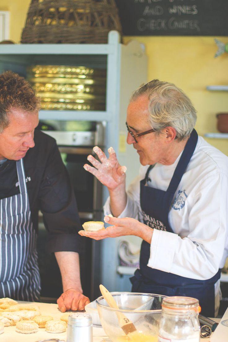 Rezept für irische Scones und Lemon Curd von Rory O'Connell aus der Ballymaloe Cookery School