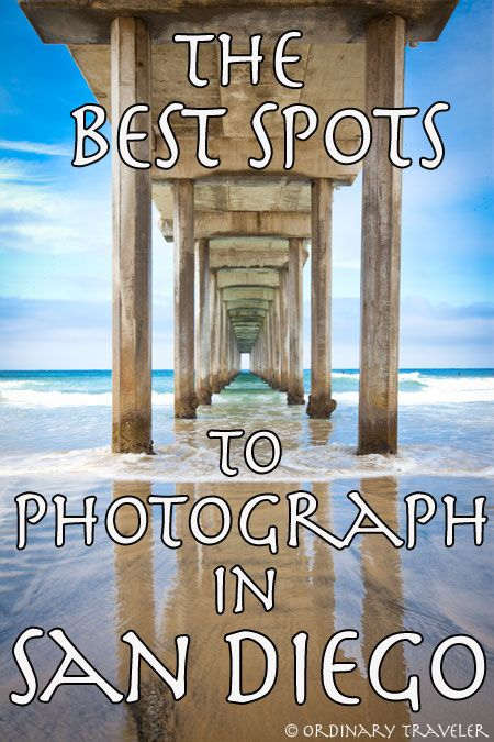 Best Places to Photograph in San Diego. a flawed list (includes Black's but not Balboa Park) but it has Swamis.