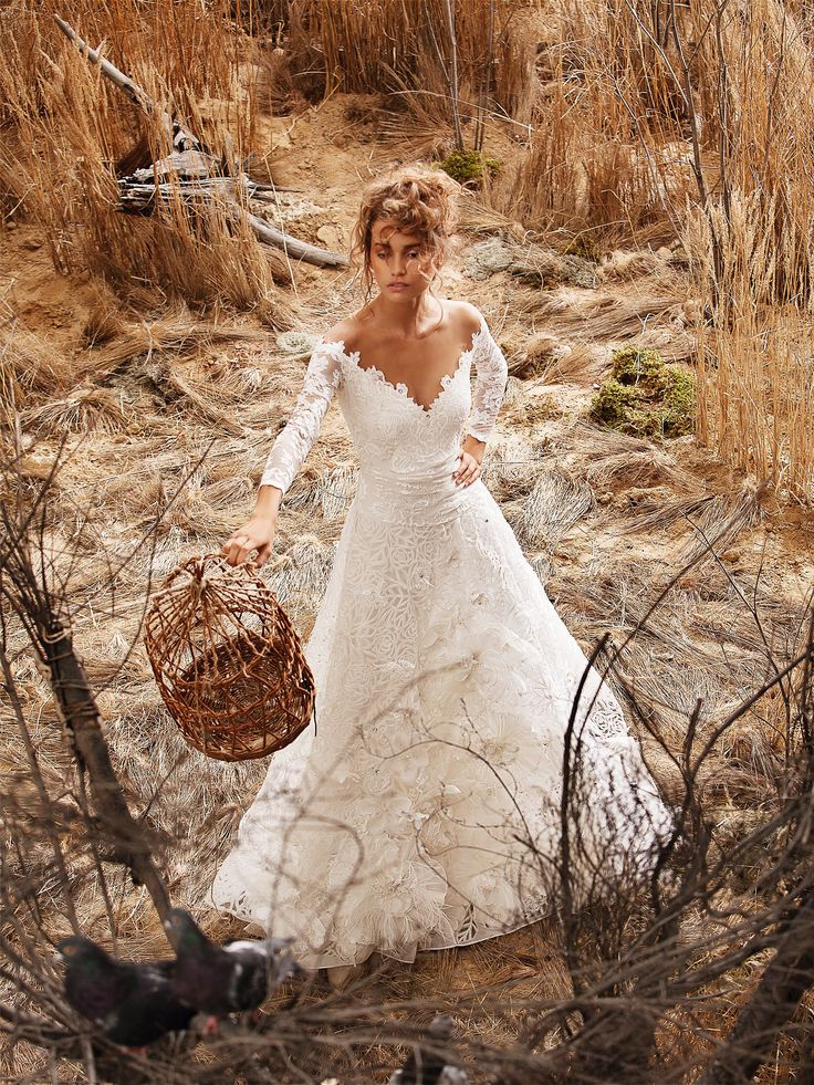 Rustic Wedding Gown, Kenny approved.