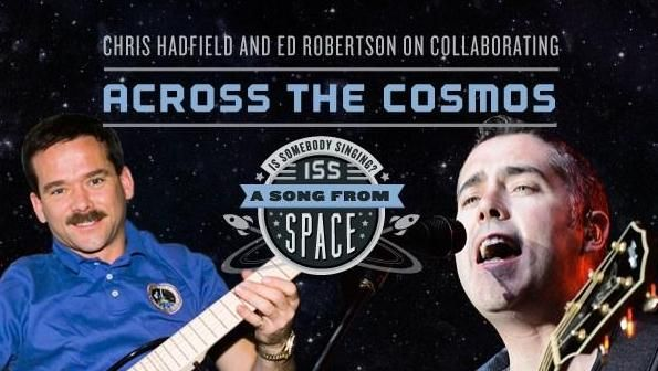 Astronaut records song in Space with Barenaked Ladies singer