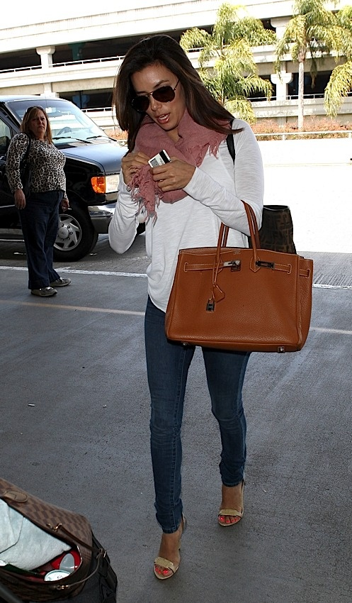 Eva and her Hermes Birkin!: Celebrity Style, Bags Addiction, Hermes Birkin, Style Pin, Style Inspiration, Birkin Bitch, Celebrity Bags, Celebrities, Photo Galleries