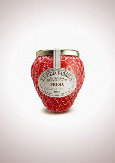 DesignWorks - ジャムのおいしさをダイレクトに伝えるパッケージデザイン「Jam La Vieja Fabrica」